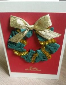 weihnachtskranz gold rot1